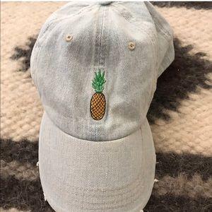 Altar d State Jean Material Pineapple Baseball Cap ed3eb633c4f8
